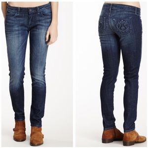 Siwy👖Hannah Slim Cropped Jean/Blue Jay Wash Way